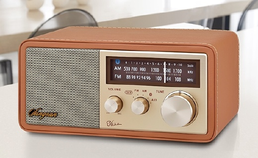 山进爵士蓝牙音箱,能当收音机的音箱