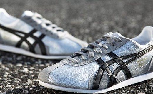 鬼塚虎运动休闲鞋:织物材质舒适透气,经典创新款时尚百搭