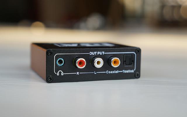 同轴转光纤 DTS Spdif转3.5 数字转模拟转换器