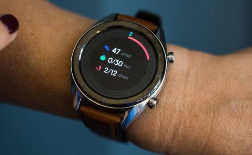 199欧元起!华为Watch GT发布:高分辨率OLED屏幕