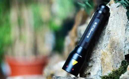 无惧黑暗,兼具远射和泛光,LEDLENSER P5R手电测评