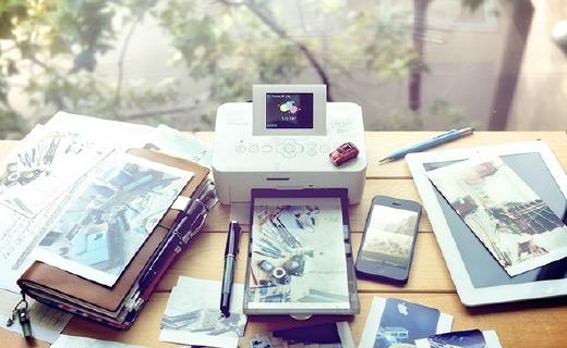 佳能CP910相片打印機:小巧易攜帶,熱升華打印色彩鮮艷