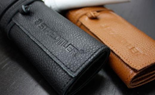 施德楼笔袋:全牛皮手工打造,笔袋也能逼格满满