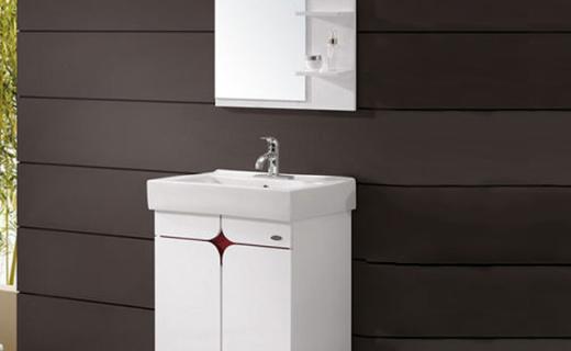 箭牌卫生间洗漱台:洗澡镜子不起雾,小巧实用逼格高
