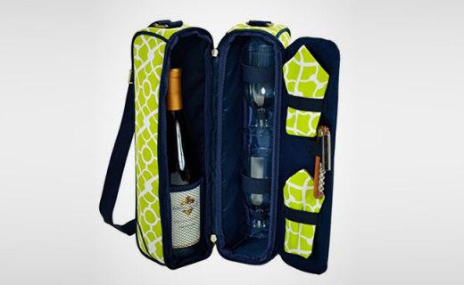 Picnic at Ascot葡萄酒储存包:耐磨抗摔帆布材质,完美存住新鲜口感