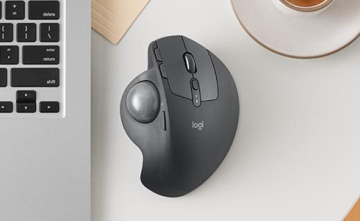罗技推出轨迹球鼠标,支撑角度可调节设计师首选
