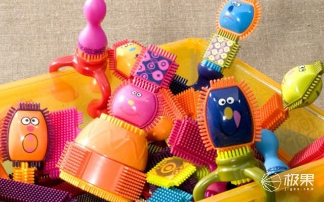 B.toys盘装积木