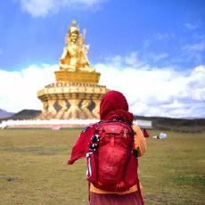 背包朝圣藏地亚青寺,OSPREY Skarab 甲虫背包体验