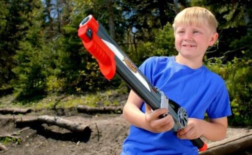 父亲节!买个火遍北美玩具钓鱼枪,0基础抓起就会!