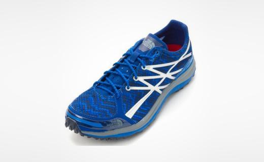 The North Face男子跑鞋:超轻防撕裂网布,贴合感受脚感好