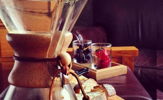 chemex手冲咖啡壶:少女小蛮腰设计,美观实用大容量