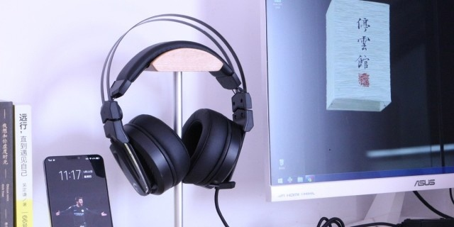 """高解析7.1声道环绕音效,让你吃鸡""""声""""历其境 — 微星GH70头戴式游戏电竞耳机"""