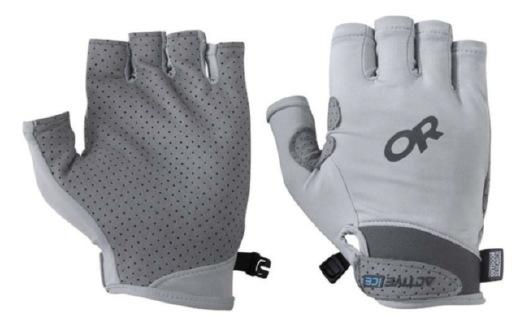 Outdoor Research防晒手套:独家面料吸热防晒,透气孔构造有效散热
