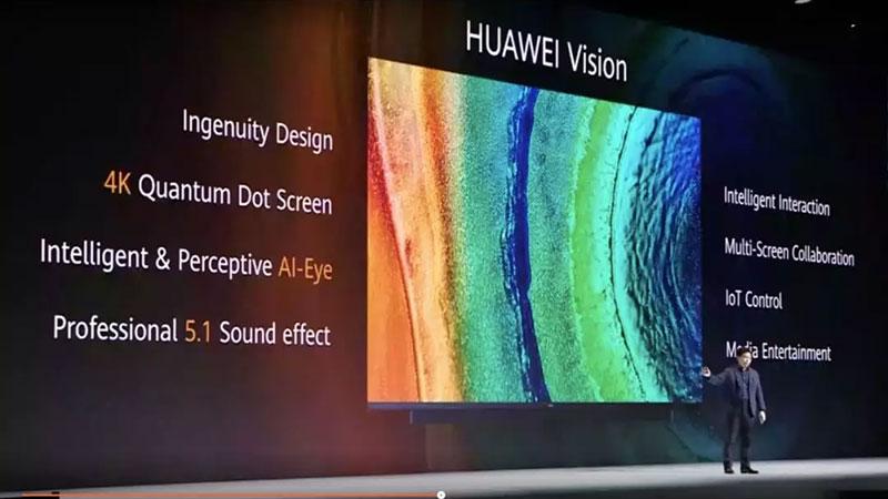 传华星光电独供华为65英寸智慧屏面板