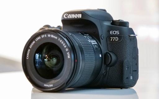 佳能EOS 77D单反:缩小版80D但画质更好