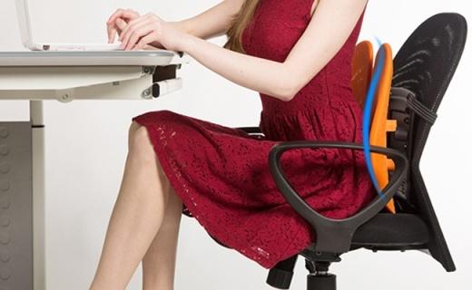 舒语背垫:双背护腰设计,解决腰肌劳损的最佳选择