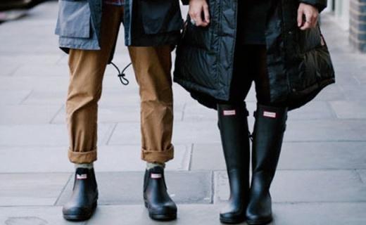 Hunter Chelsea短雨靴:英国皇室都在穿,雨天也时尚出街