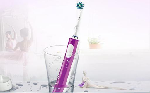 Oral-B D16+电动牙刷:小圆刷头多角度包裹牙齿,声波结净不伤牙