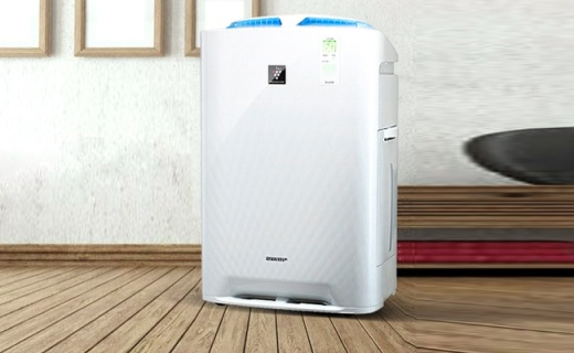 夏普空气净化器:净离子群技术,呼吸健康新鲜氧气