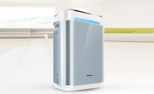 松下空气净化器:除尘脱臭超强过滤,大自然般室内空气
