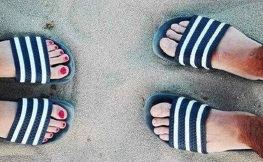 让贝克汉姆都痴迷的运动凉鞋,夏天有它还穿什么椰子AJ