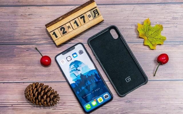 iPhone XS Max新衣服:GVOGA机布机棉麻保护壳