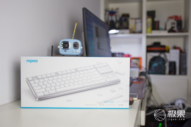 雷柏(Rapoo)MT500轻薄办公机械键盘