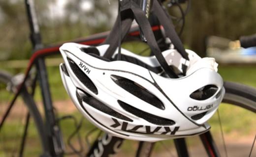 Kask Vertigo 2.0骑行头盔:聚碳酸酯外壳缓冲衬垫,24孔仅重270g