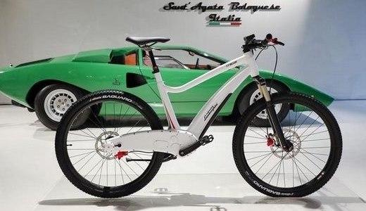 兰博基尼发布电动越野自行车,土豪朋友们了解一下?