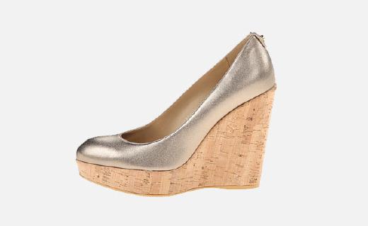英国王妃凯特同款女士麂皮坡跟鞋,舒适透气蹦蹦跳跳都不累