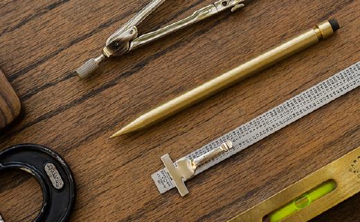 伴你一生的金属自动铅笔,用它书写自带逼格