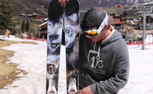 Icelantic Gypsy滑雪板:楊木核心夾層設計,發力強勁滑行平穩