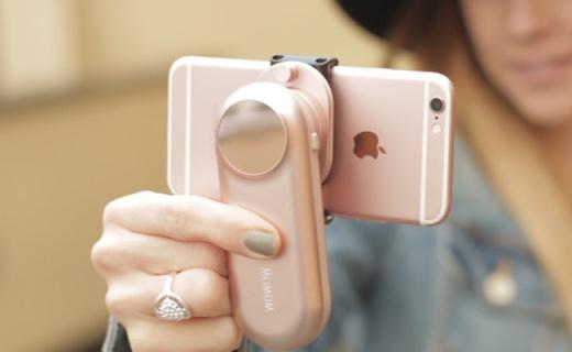 世界上最小的手持稳定器,有了它手抖党也能拍大片