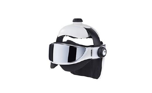 GESS 头部眼部按摩器,像高科技战士一样享受spa