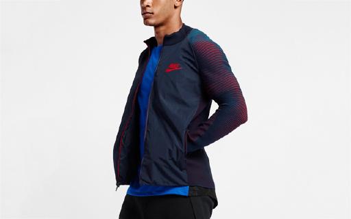 创新面料,耐克新款运动夹克让你自由运动不束缚