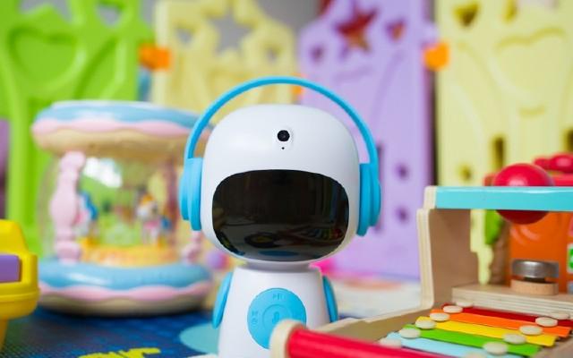 智能互动,孩子身边的良师益友,酷宝早教机器人体验
