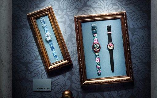 Swatch首款艺术品联名款发布:将画作戴手上