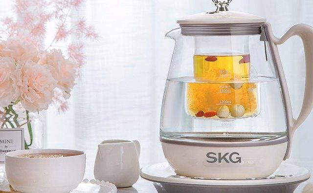 美食蒸煮專家,SKG養生壺體驗