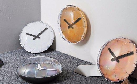 设计师打造气球挂钟,简约造型充满童趣!