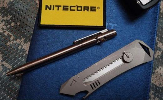 能文能武,让刀棍失色,不一般,我喜欢--奈特科尔NTP30战术笔体验