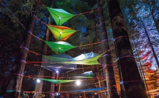 上天入地的户外神器:tentsile开发出第一款三栖帐篷