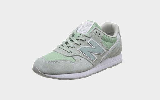 New Balance休闲跑步鞋:优质猪皮革材质,复古与潮流结合