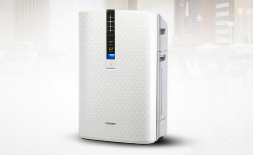夏普空气净化器:高浓度净离子群,给你循环静音的清新空气