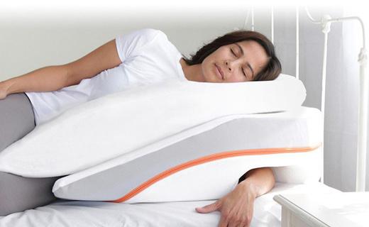 这只倾斜侧卧枕,让你睡觉手不麻不打呼