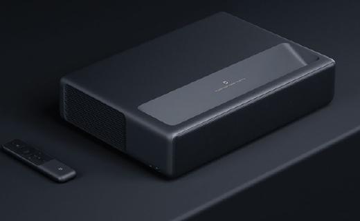 小米发布米家激光投影电视4K:可投射150英寸画面,售价9999