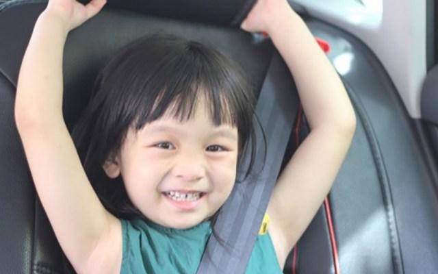 手包大小的安全座椅,孩子安全出行的保护神 - mifold便携式儿童安全座椅体验