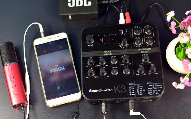 唱歌调音样样都行,小白也能变身专业主播 — 创新 K3专业声卡测评 | 视频