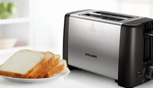 飞利浦HD4826/92多士炉:扩展加热平台烘烤均匀,7档调温省时省心