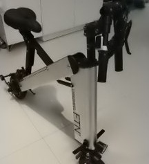 卡西威尔智能折叠自行车
