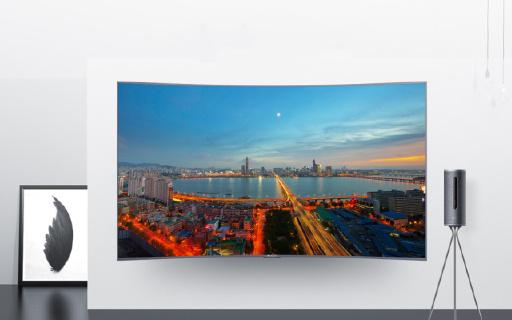 微鲸电视新品,78英寸三星面板看到爽!